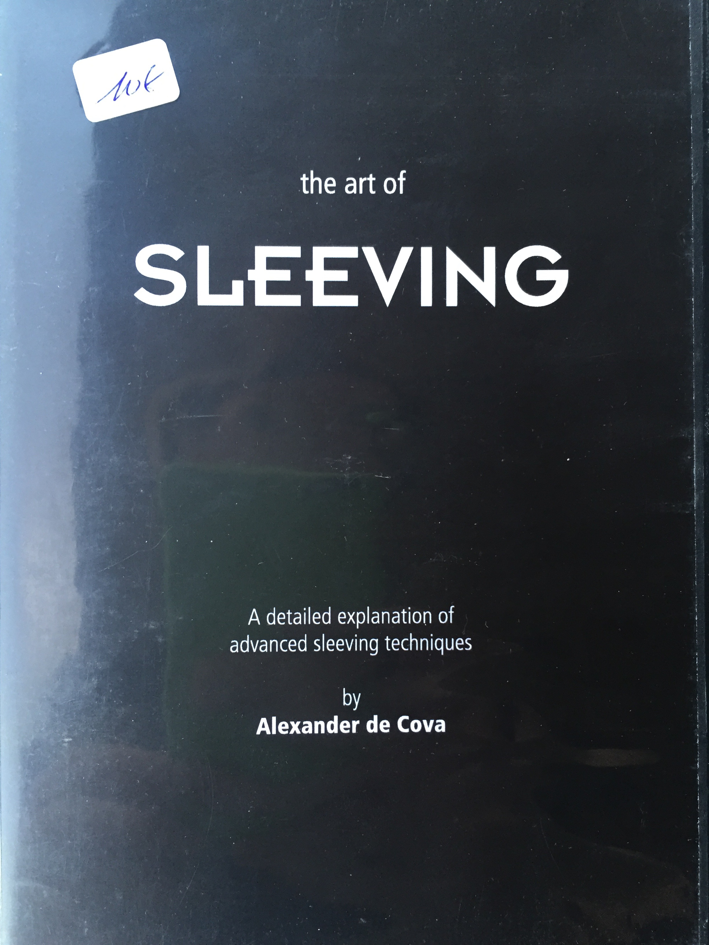 Image result for The Art Of Sleeving by Alexander de Cova